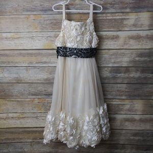 ⬇⬇ Bonnie Ivory Formal Pageant Flower Girl Dress